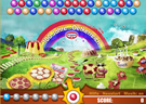Flash bubble shooter game