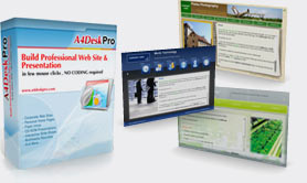 A4DeskPro Website Builder